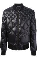 Dolce & Gabbana Husky Padded Jacket - Lyst