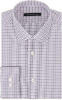 John Varvatos Plaid Slim Fit Dress Shirt - Lyst