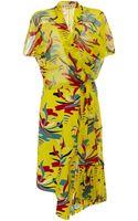 Marni Voile St Carioca Short Sleeve Dress - Lyst