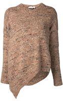 Stella McCartney Asymmetric Sweater - Lyst