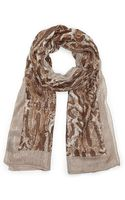 Vince Camuto Exotic Animal Oversized Wrap - Lyst