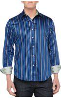 Robert Graham Winston Striped Sport Shirt - Lyst