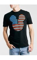 Topman America Mickey Mouse Tshirt - Lyst