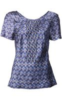Marchesa Voyage Beaded Top - Lyst