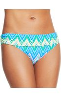 Kenneth Cole Reaction Zigzag Foldover Hipster Bikini Brief - Lyst