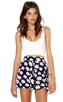 Nasty Gal Drive Me Daisy Short - Lyst