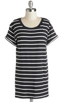 Sunny Girl Pty Lltd Simplicity On A Saturday Tunic in Black Stripes - Lyst