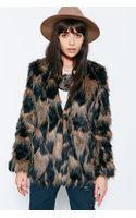 Ladakh Pepe Faux-fur Jacket - Lyst
