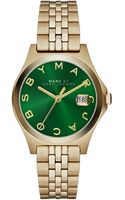 Marc By Marc Jacobs 30mm The Slim Golden Watch with Bracelet Green Dial - Lyst