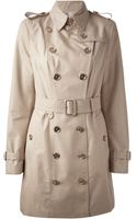 Burberry London Queenscrown Trench Coat - Lyst