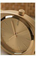 Nixon Gold Time Teller Watch - Lyst