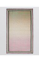 Diane Von Furstenberg Washed Chiffon Silk Scarf - Lyst