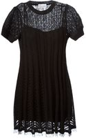 RED Valentino Lace Knit Dress - Lyst