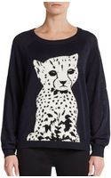 French Connection Born To Be Free Sweater - Lyst