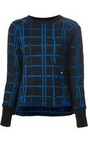 Kenzo Irregular Check Sweater - Lyst
