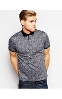 Ted Baker Polo Shirt in Paisley Print - Lyst