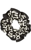 Marc By Marc Jacobs Printed Cottontwill Scrunchie - Lyst