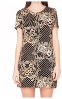 Pixie Market Leopard Chain Dress - Lyst