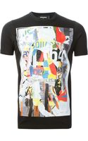 DSquared2 Printed T-shirt - Lyst