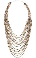 Nakamol Tiered Multistrand Beaded Necklace - Lyst
