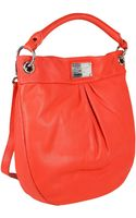 Marc By Marc Jacobs Borsa Donna Hilier Hobo Classic Rosso - Lyst