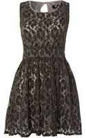 Cutie All Over Lace Dress - Lyst