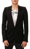 Balmain Zebra Jacquard Evening Jacket - Lyst