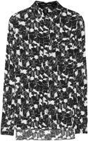 Proenza Schouler Printed Silkgeorgette Shirt - Lyst