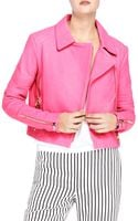 J Brand Aiah Leather Jacket - Lyst