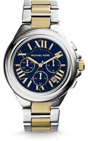 Michael Kors Camille Twotone Stainless Steel Watch - Lyst
