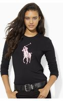 Pink Pony Longsleeved Big Pony Tee - Lyst
