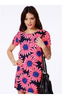 Missguided Edytha Floral Print Shift Dress - Lyst