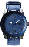 Nixon Corporal Stainless Steel Watch - Lyst