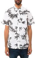 Huf The Bamboo Buttondown Shirt - Lyst