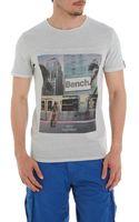 Bench Photo Print T Shirt - Lyst