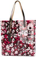 Marni Floral Shopper Tote - Lyst