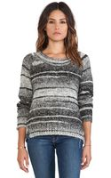Love Sam Daisy Double Slit Sweater - Lyst