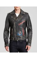 Diesel Lderva Leather Jacket - Lyst