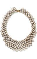 Banana Republic Crystal Collar Necklace Clear Crystal - Lyst