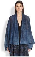 Donna Karan New York Caftan Jacket - Lyst