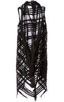 Simona Tagliaferri Sheer Knit Dress - Lyst