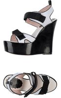 RED Valentino Wedge - Lyst