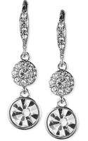Givenchy Crystal Small Pavé Drop Earrings - Lyst