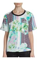 W118 By Walter Baker Florentina Printed Top - Lyst