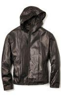 3.1 Phillip Lim Box Cut Leather Jacket - Lyst
