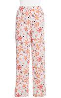 Hue Snow Fleece Pajama Pants - Lyst