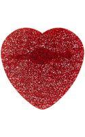 Mary Portas Red Glitter Heart Brooch - Lyst