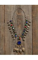 Free People Vintage Stone Pendant Necklace - Lyst