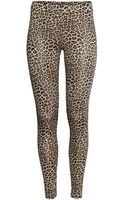 H&M Jersey Leggings - Lyst