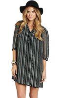 BCBGeneration Blouson-sleeve Tunic Dress - Lyst